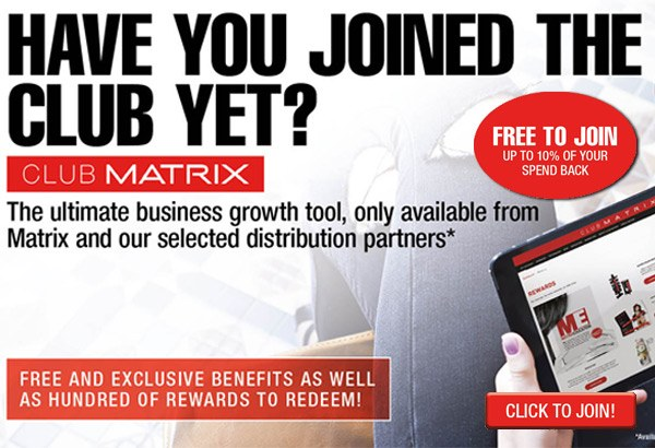 club matrix homepage banner mobile